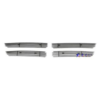 Black - Horizontal Billet Grille - 2011-2014 Dodge Avenger