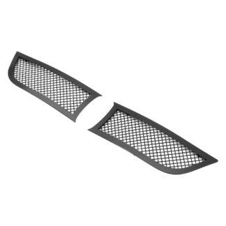 Black - 1.8mm Wire Mesh Grille - 2015-2018 Dodge Charger With Adaptive Cruise Control (Not for Daytona and RT SCAT Pack and SRT)/2019 Dodge Charger With Adaptive Cruise Control Only for SXT