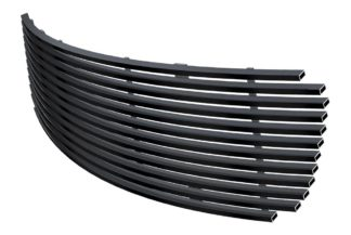 Black - Horizontal Billet Grille - 1998-2012 Ford Victoria Only For Honeycomb Style Logo Cover