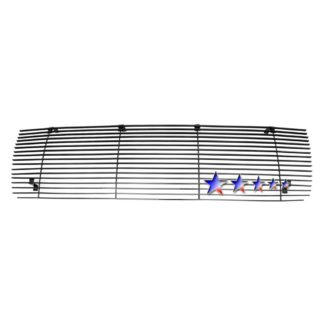 Black - Horizontal Billet Grille - 1992-1996 Ford Bronco /1992-1996 Ford F-150 /1992-1996 Ford F-250 /1992-1996 Ford F-350
