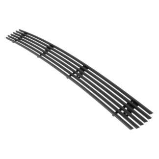 Black - Horizontal Billet Grille - 2005-2008 Honda Ridgeline 1 Center PC (Will Not Fit Vehicles With OE Chrome Bumper Package)