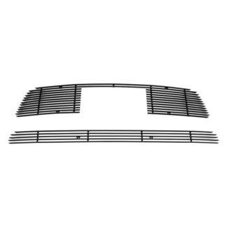 Black - Horizontal Billet Grille - 2012-2013 Kia SOUL