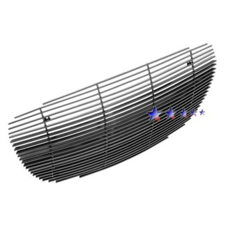 Black - Horizontal Billet Grille - 2002-2004 Chrysler Concorde Not For Limited Edition/1999-2001 Chrysler LHS