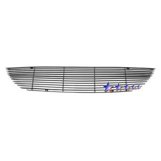 Black - Horizontal Billet Grille - 2001-2004 Chrysler Town & Country