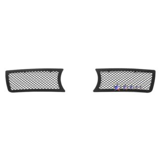 Black - 1.8 mm Wire Mesh Grille - 2005-2010 Chrysler 300C  With Fog Light