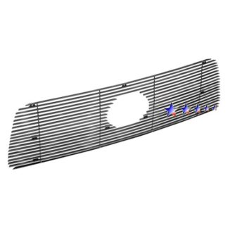 Black - Horizontal Billet Grille - 2007-2009 Toyota Tundra With Logo Show