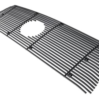 Black - Horizontal Billet Grille - 2010-2013 Toyota Tundra 1 PC With Logo Show