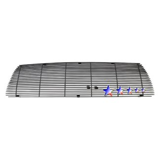 Black - Horizontal Billet Grille - 2010-2013 Toyota Tundra 1 PC Without Logo Show