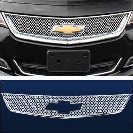 CCI Grille Overlay Chrome ABS; Chevy Impala  2014-2020