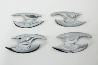 ABS Chrome Door Handle Bowl Molding 4-Door 2011 - 2016 Hyundai Elantra