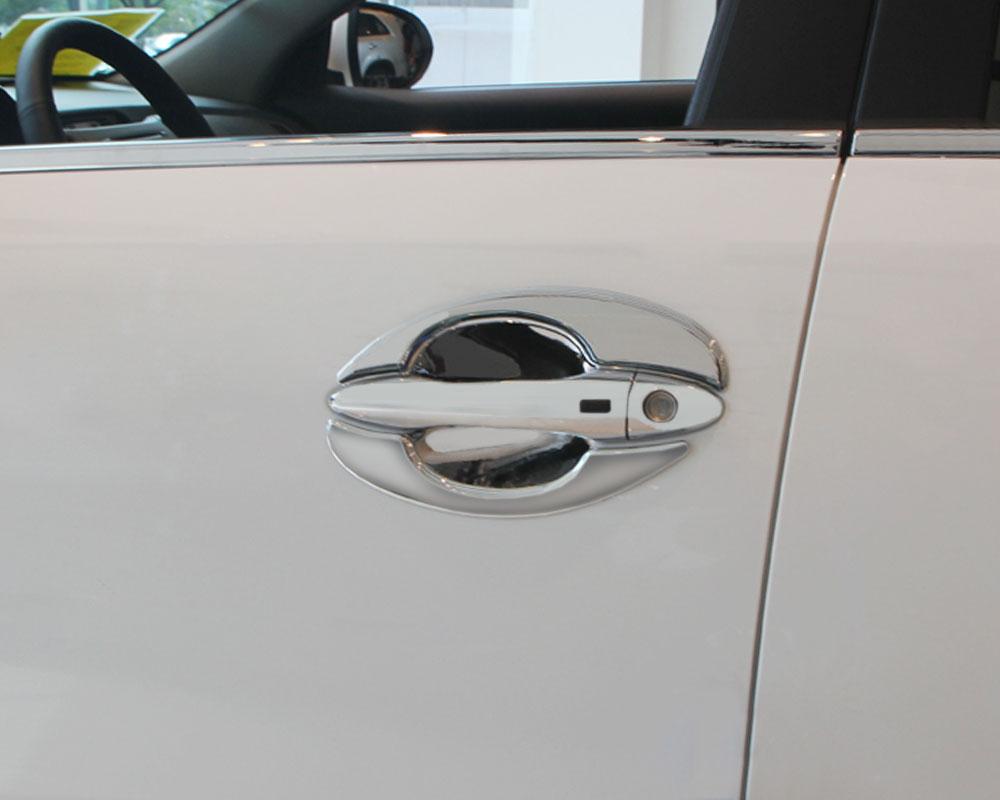 For 2005-2010 Chevy Cobalt 4-DR Mirror Chrome Door Handle Cover Cap Trim Kit