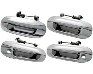 (Non EXT) ABS Chrome Replc. DH 4D-2K Also Fits 02-06 GMC Envoy (Non XL) / 06-07 Buick Rainier 2002 - 2009 Chevy Trailblazer