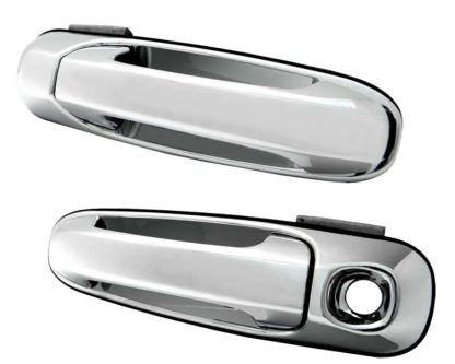 05-11 Dakota ABS Chrome Replacement Door Handle 2D-1K 2002 - 2008 Dodge Ram