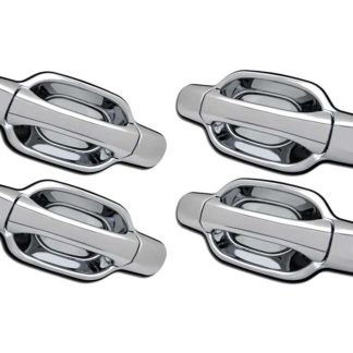 ABS Chrome Replacement Door Handle 4-Door 2-Keyhole 2004 - 2012 GMC Canyon
