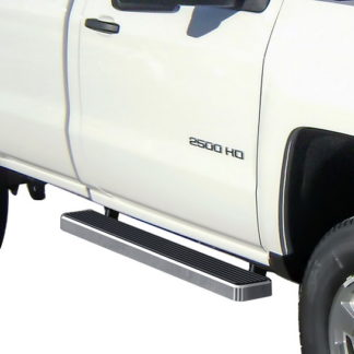iStep 5 Inch Running Boards 2007-2019 GMC Sierra 3500 (Hairline)
