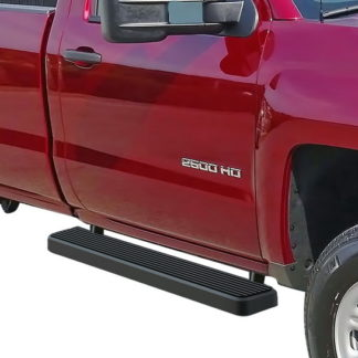 iStep 5 Inch Running Boards 2007-2019 Chevy Silverado 3500 (Black)