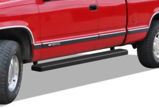 iStep 5 Inch Running Boards 1988-1998 Chevy C/K (Black)