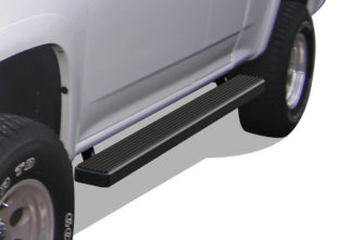 iStep 5 Inch Running Boards 2004-2012 Chevy Colorado (Black)