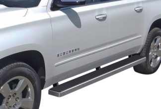 iStep 5 Inch Running Boards 2002-2013 Chevy Avalanche 1500 (Hairline)