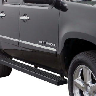 iStep 5 Inch Running Boards 2000-2019 GMC Yukon 1500 (Black)