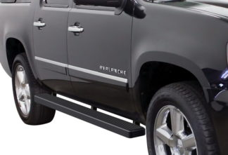 iStep 5 Inch Running Boards 2002-2013 Chevy Avalanche 1500 (Black)