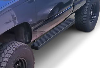 iStep 5 Inch Running Boards 1988-1998 Chevy C/K Pickup (Black)