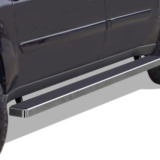 iStep 5 Inch Running Boards 2002-2009 Chevy Trailblazer (Hairline)