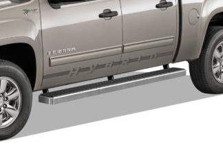 iStep 5 Inch Running Boards 2007-2019 Chevy Silverado 2500 (Hairline)