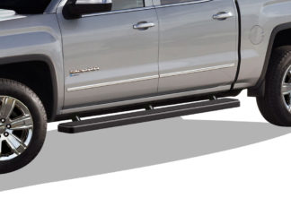 iStep 5 Inch Running Boards 2007-2019 Chevy Silverado 2500 (Black)