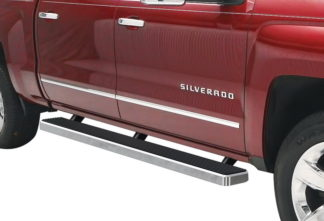 iStep 5 Inch Running Boards 2001-2014 Chevy Silverado 3500 (Hairline)