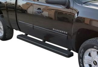 iStep 5 Inch Running Boards 2001-2014 Chevy Silverado 2500 HD (Black)