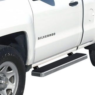 iStep 5 Inch Running Boards 1999-2016 Chevy Silverado 3500 HD (Hairline)