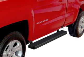 iStep 5 Inch Running Boards 1999-2016 Chevy Silverado 2500 HD (Black)