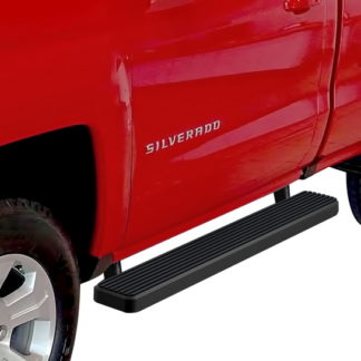 iStep 5 Inch Running Boards 1999-2016 Chevy Silverado 3500 HD (Black)