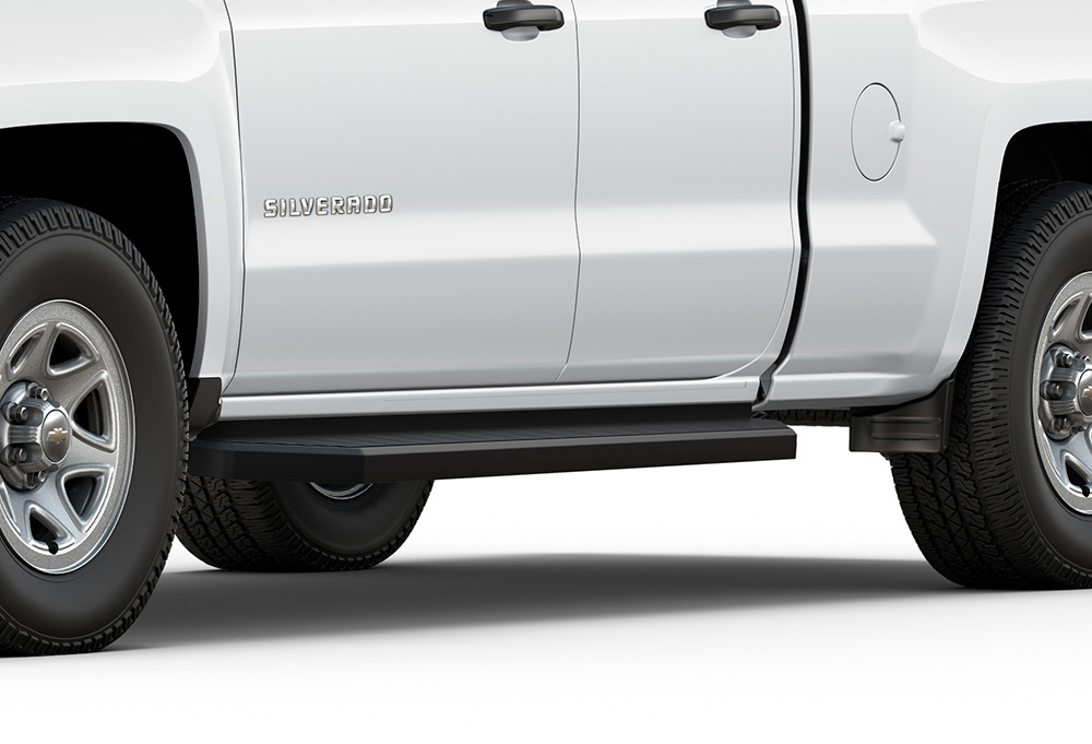 """OEM NEW 2007-2019 Chevrolet /""""SILVERADO/"""" Chrome W//Black Logo License Plate Frame"""