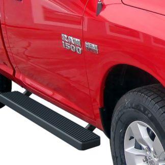 iStep 5 Inch Running Boards 2010-2019 Dodge RAM 4500 (Black)