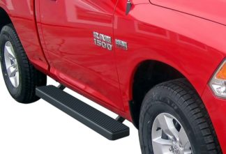 iStep 5 Inch Running Boards 2010-2019 Dodge RAM 5500 (Black)