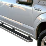iStep 5 Inch Running Boards 2017-2019 Ford F-250 (Hairline)