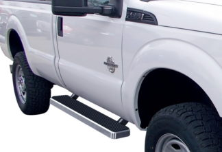 iStep 5 Inch Running Boards 1999-2016 Ford F-450 SD (Hairline)