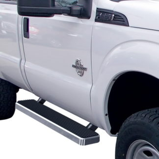 iStep 5 Inch Running Boards 1999-2016 Ford F-550 SD (Hairline)