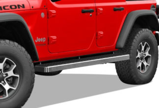 iStep 5 Inch Running Boards 2018-2020 Jeep Wrangler (Hairline)