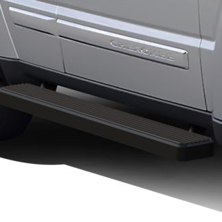 iStep 5 Inch Running Boards 2002-2007 Jeep Liberty (Black)