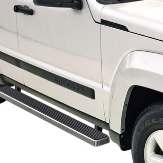 iStep 5 Inch Running Boards 2008-2013 Jeep Liberty (Hairline)