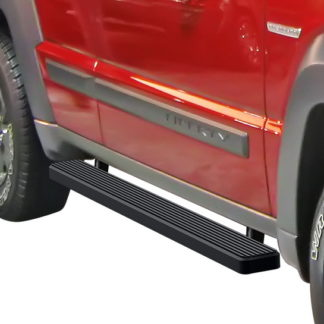iStep 5 Inch Running Boards 2008-2013 Jeep Liberty (Black)
