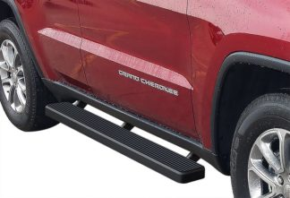 iStep 5 Inch Running Boards 2011-2019 Jeep Grand Cherokee (Black)