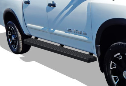 iStep 5 Inch Running Boards 2016-2019 Nissan Titan (Black)