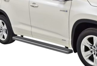 iStep 5 Inch Running Boards 2008-2019 Toyota Highlander (Hairline)