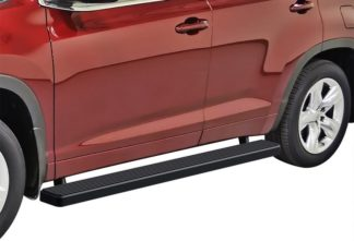 iStep 5 Inch Running Boards 2008-2019 Toyota Highlander (Black)