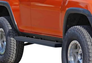 iStep 5 Inch Running Boards 2010-2013 Toyota 4Runner (Black)