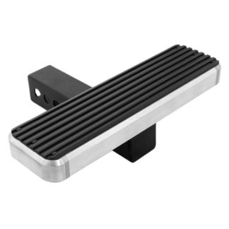 iStep Style 14 Inch Rear Hitch Step Hairline Finish for 2 Inch Receivers